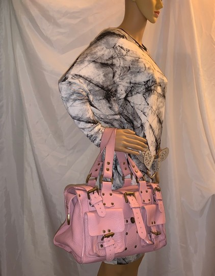 Mulberry Satchel in pink Image 1
