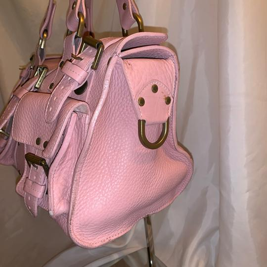 Mulberry Satchel in pink Image 10