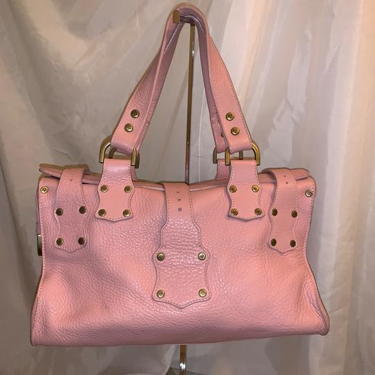 Mulberry Satchel in pink Image 6