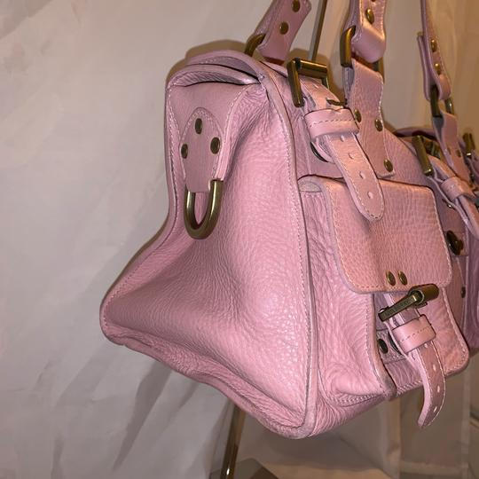 Mulberry Satchel in pink Image 8