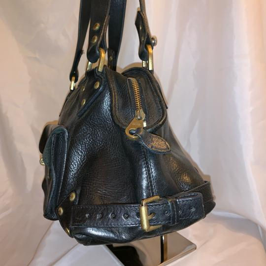 Mulberry Satchel in black Image 9