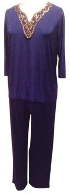Preload https://item4.tradesy.com/images/slinky-brand-blue-top-and-leisure-1x-pant-suit-size-20-plus-1x-177638-0-0.jpg?width=400&height=650