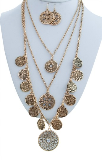 Preload https://item3.tradesy.com/images/other-multi-layer-golden-chain-dangle-necklace-set-1776387-0-0.jpg?width=440&height=440