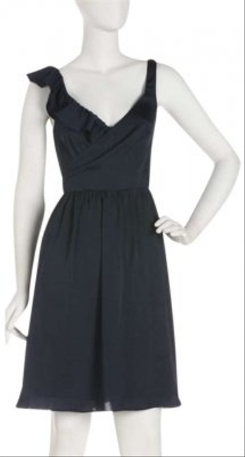 Andrew Marc short dress Dark Blue on Tradesy