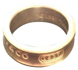 Tiffany & Co. TIFFANY & CO. 1837 T&C STERLING SILVER RING SIZE 6