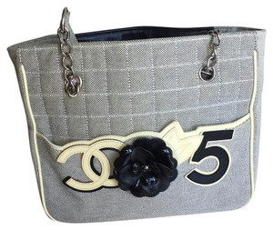 Chanel Tote in Black, Gray