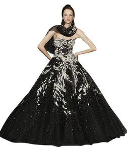 Marchesa Silk Couture 3d Dress