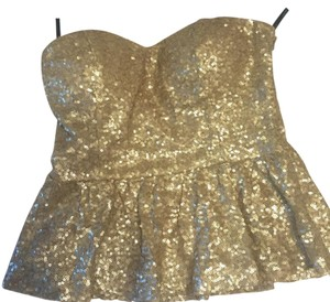 Forever 21 Top Gold