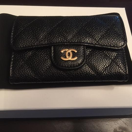 Chanel Brand new Chanel Caviar Wallet with Gold Hardware