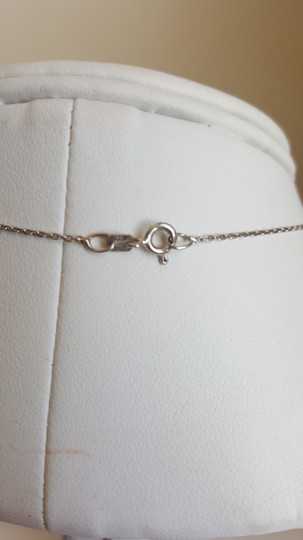 Levonian Jewelry 14K White Gold Slipper Necklace