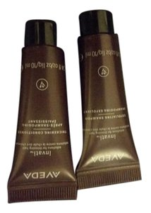 Peter Coppolla AVEEDA Thickening conditioner and exfoliate shampoo samples