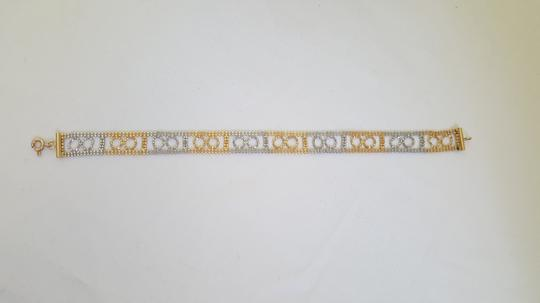 Levonian Jewelry 14K White Gold and Yellow Gold Bracelet
