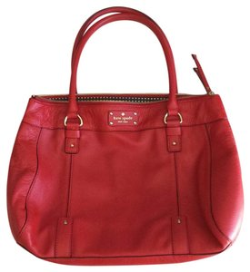 Kate Spade Satchel in Red / Poppy