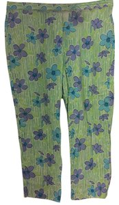 Lilly Pulitzer Capri/Cropped Pants Green, Turquoise, Lavendar
