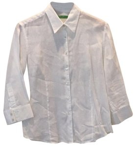 Miss Wear Button Down Shirt White