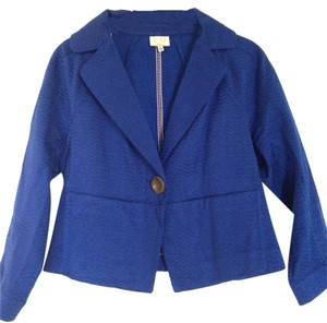 Anthropologie Blue Jacket