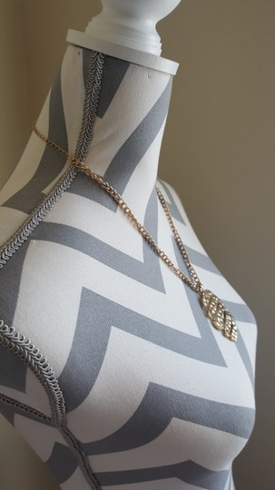 Other Hammered Gold Necklace + Gold Hammered Earrings Set