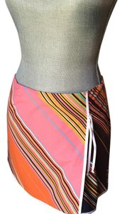 Trina Turk Mini Skirt Multi