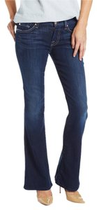 7 For All Mankind Lexie Flare A Pocket Med Wash Boot Cut Jeans-Medium Wash