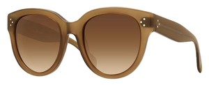 Céline NEW Celine Audrey 41755/S Dark Peach Sunglasses