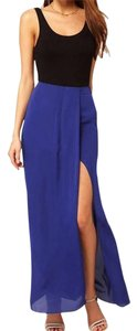 Endangered Collection Boho Chic Maxi Skirt Blue