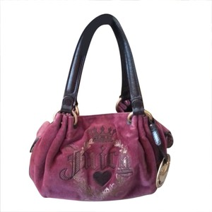 Juicy Couture Tote in BURGUNDY