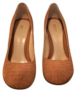 Fendi Light Brown/Tan Platforms
