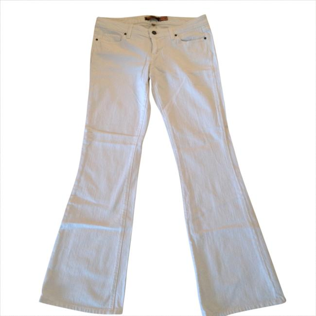Item - White Light Wash Boot Cut Jeans Size 29 (6, M)