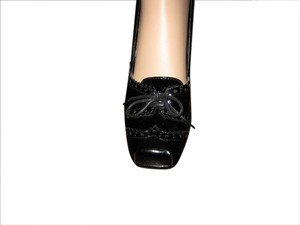 Rampage Sexy High Patent Leather Black Pumps