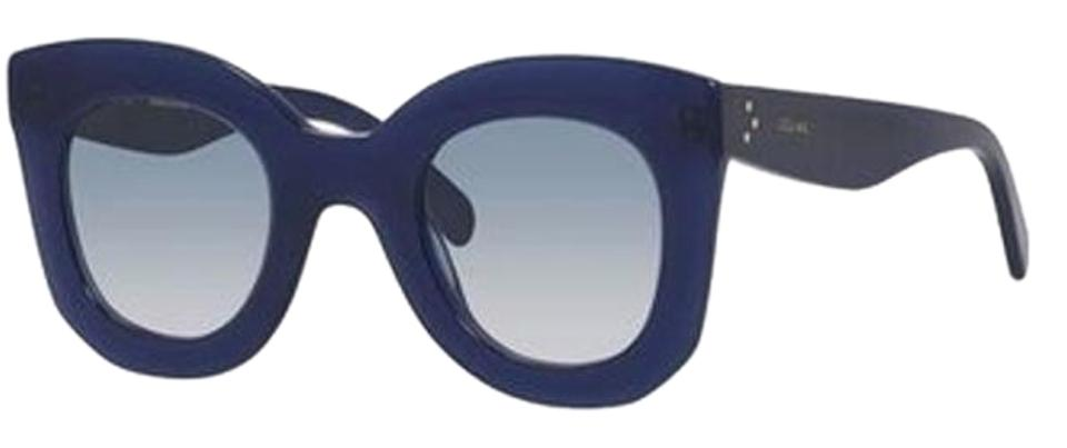 Cl New 66Off Blue Céline Retail Marta Navy Sunglasses 41093 DWEYe2HI9