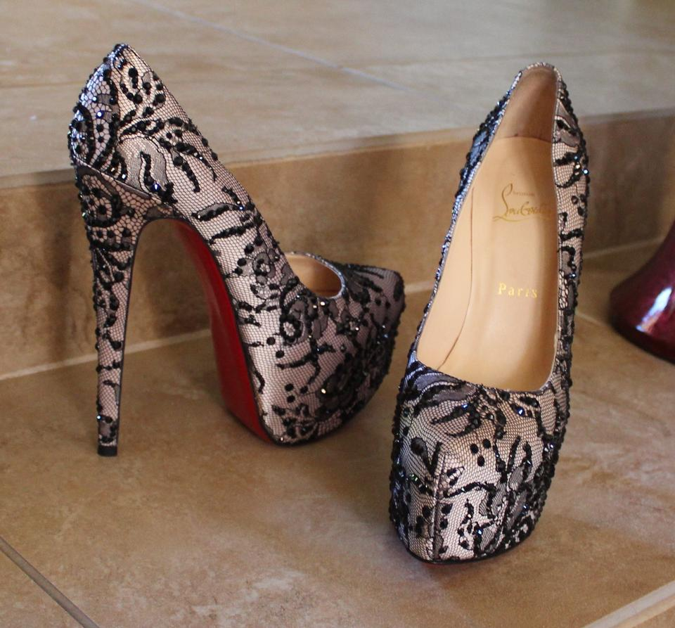 fake louis vuitton shoes - christian louboutin satin Daffodil Stardust pumps | The Little ...
