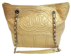 Chanel Moscow Tote in Gold