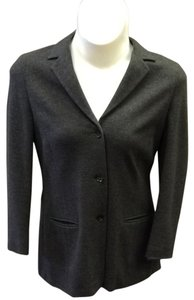 Akris Punto Charcoal Gray Blazer