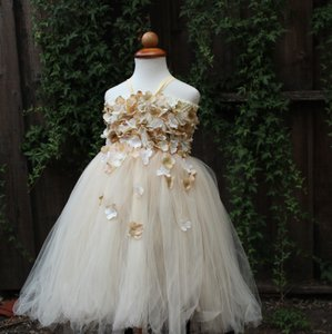 Custom Made Flower Girl Dress