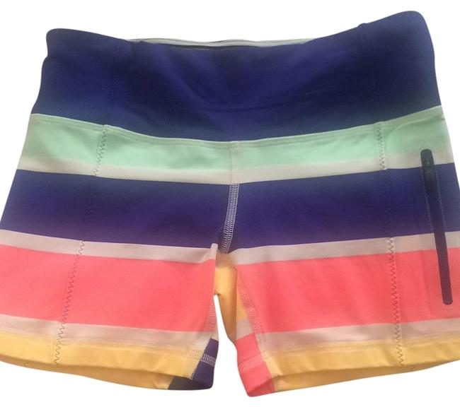Item - Multi: Blue/ Fuschia / Yellow / Teal Seahweeze Run Fast Track Activewear Bottoms Size 4 (S, 27)