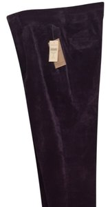 Coldwater Creek Straight Pants grape