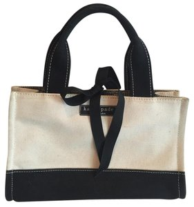 Kate Spade Tote in Beige And Black