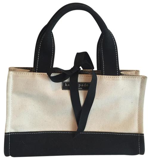 Preload https://item3.tradesy.com/images/kate-spade-beige-and-black-canvas-tote-17768857-0-1.jpg?width=440&height=440