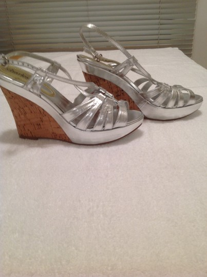 Charles by Charles David Silver Wedges Image 2