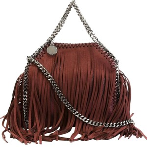 Stella McCartney Tote in Red Brown