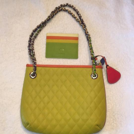 My Walit Satchel in lime green