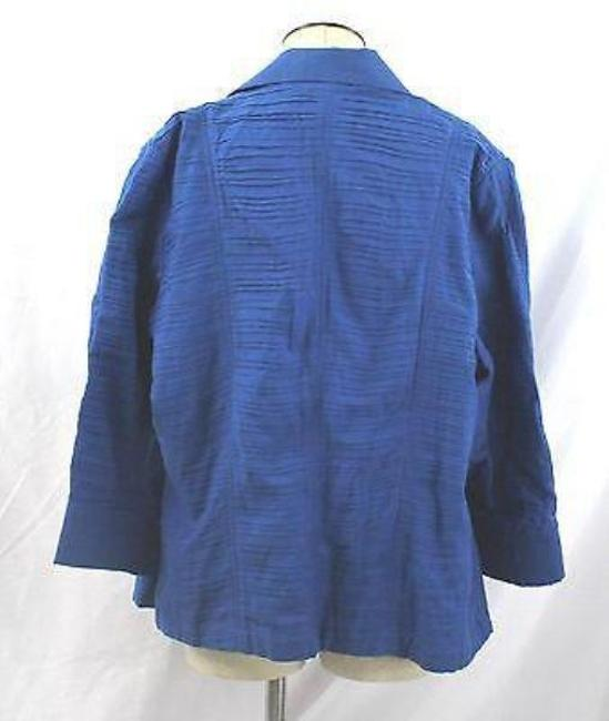 Chico's Blue Jacket Blazer