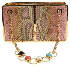 Judith Leiber Snake Shoulder Bag