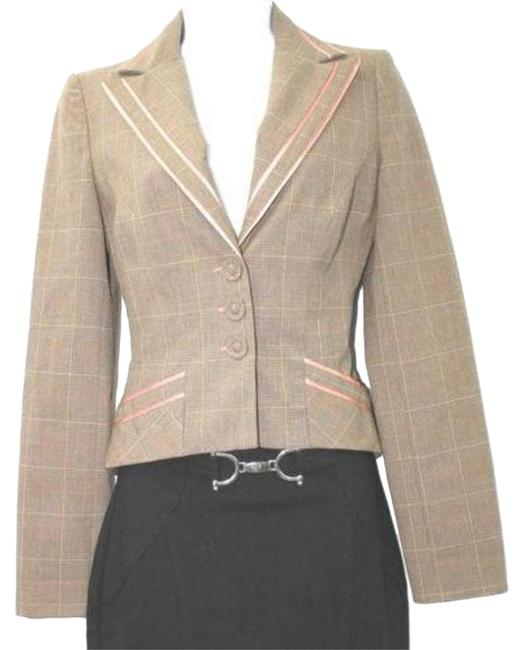 Preload https://item3.tradesy.com/images/bebe-pink-trim-fitted-stretch-cropped-wool-blend-jacket-0-blazer-size-0-xs-17769052-0-1.jpg?width=400&height=650