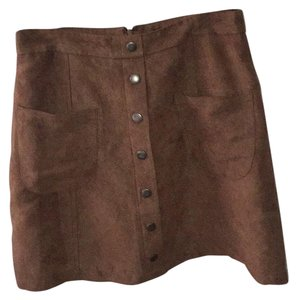 Love by Design Skirt Brown
