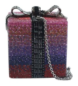 Judith Leiber Crystal Purple Shoulder Bag