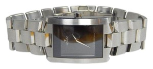 Movado Authentic Movado Stainless Steel Black Face