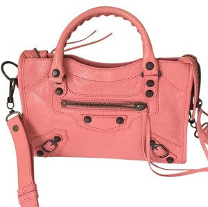 Balenciaga Satchel in Peach