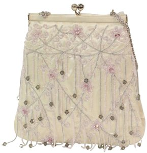 Judith Leiber Evening Ivory Clutch