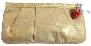 Kenneth Jay Lane Kjl Gold Clutch
